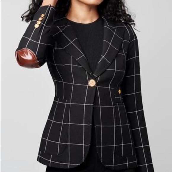 Smythe checkered blazer